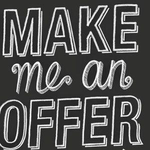 Make me an offer 😊